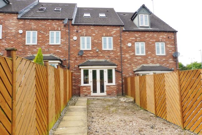 Rear View of Mayflower Way, Wombwell S73
