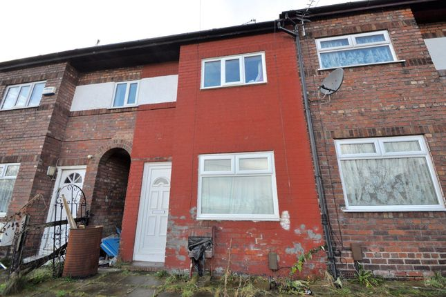 Thumbnail 2 bed terraced house to rent in Holly Grove, Tranmere, Birkenhead