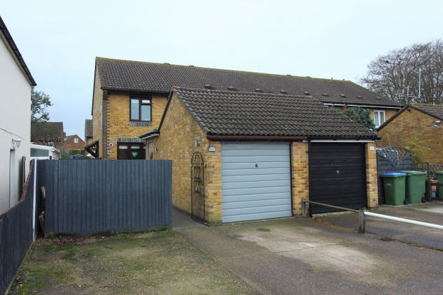 Thumbnail End terrace house for sale in Glebelands, West Molesey
