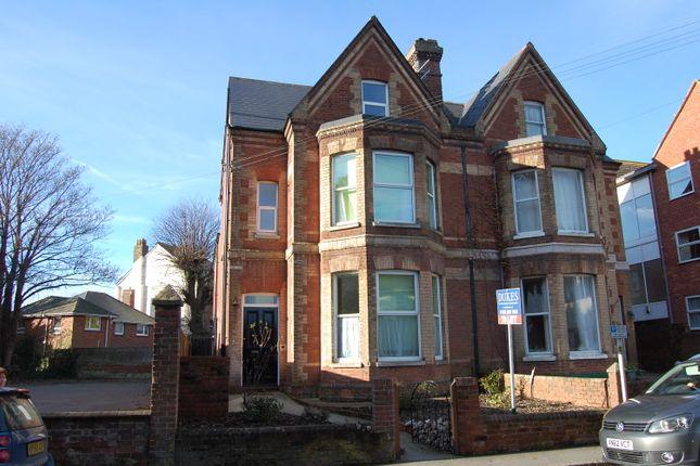 Thumbnail Town house to rent in Polsloe Road, Exeter, Devon