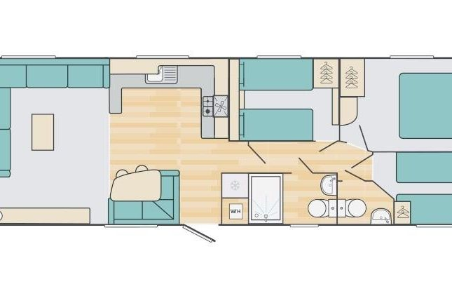 Floorplan of The Willows, Sandy Bay, Exmouth EX8