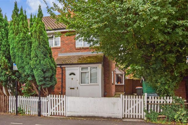 Thumbnail End terrace house for sale in Kirkham Road, Beckton, London