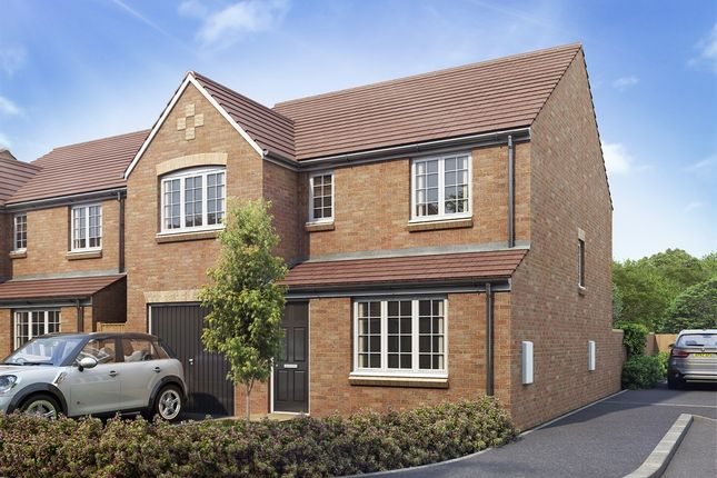 """Thumbnail Detached house for sale in """"The Longthorpe"""" at Bedford Road, Houghton Regis, Dunstable"""