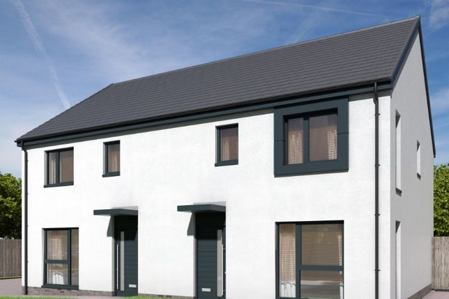 Thumbnail Semi-detached house for sale in Plot 38, Branshill Road, Sauchie, Clackmannanshire