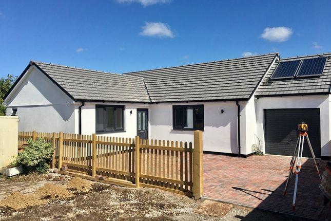 Thumbnail Detached bungalow for sale in Main Road, Rosudgeon, Penzance