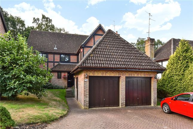 Thumbnail Property for sale in Throgmorton Road, Yateley, Hampshire