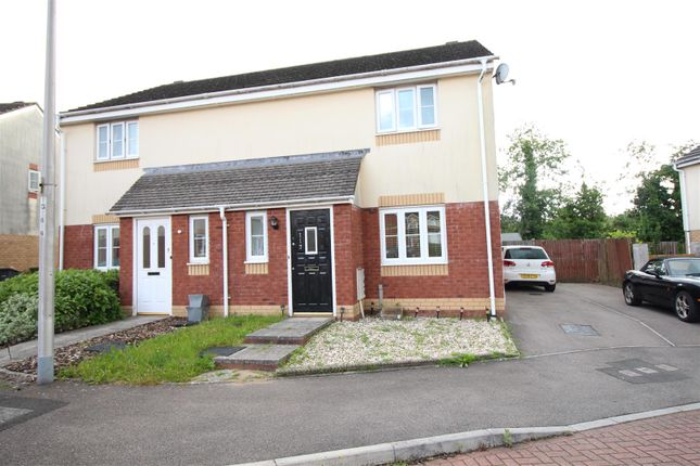 Thumbnail Semi-detached house for sale in Churchwood, Griffithstown, Pontypool