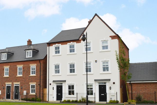 "Thumbnail Semi-detached house for sale in ""Cannington"" at Great Denham, Bedford"