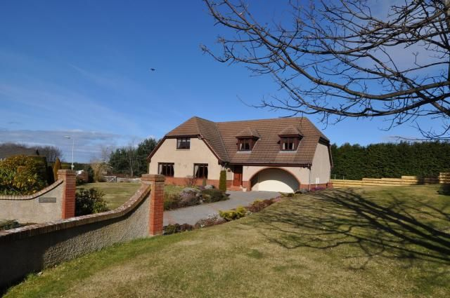 Thumbnail Detached house for sale in Springfield Croft Road, Forres