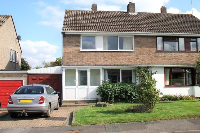 Thumbnail Semi-detached house for sale in Noredown Way, Royal Wootton Bassett, Swindon