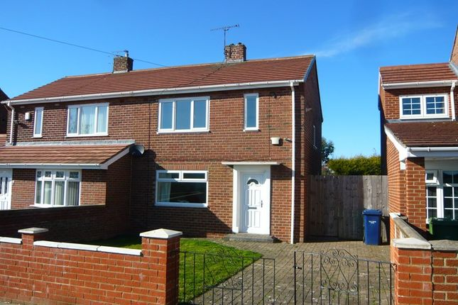 Thumbnail Semi-detached house for sale in Brockley Avenue, South Shields