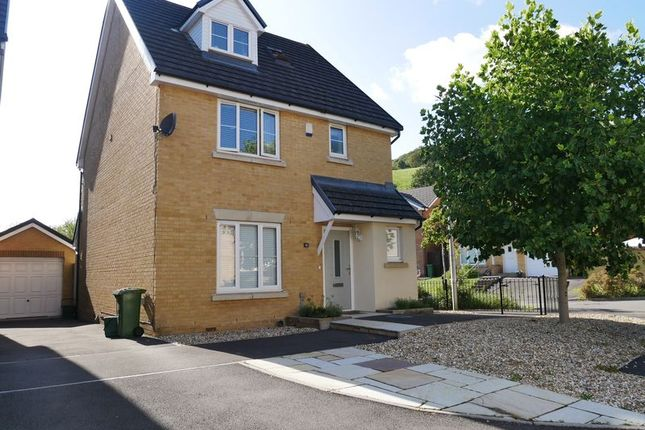 Thumbnail Detached house to rent in The Dairy, Cross Inn, Llantrisant