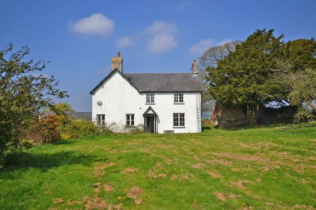 Thumbnail Detached house to rent in Large Farmhouse, Pentrepoeth Road, Rhiwderin, Newport