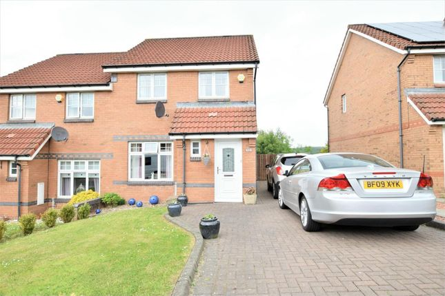 Thumbnail Semi-detached house for sale in Lammermuir Way, Airdrie