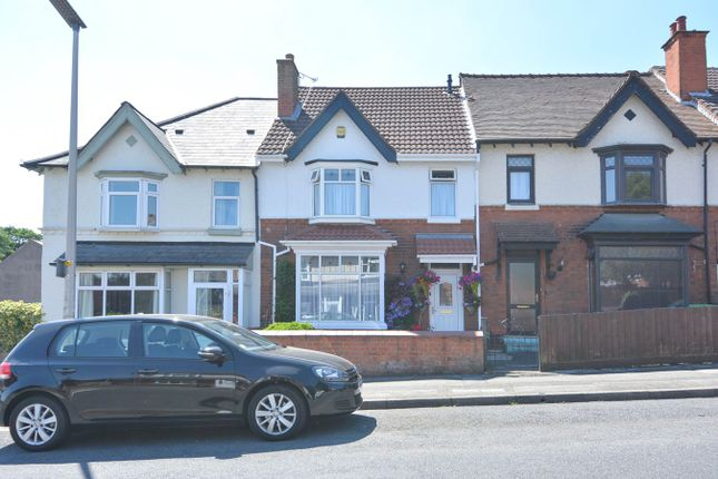 Thumbnail Terraced house for sale in Upper St Marys Road, Bearwood