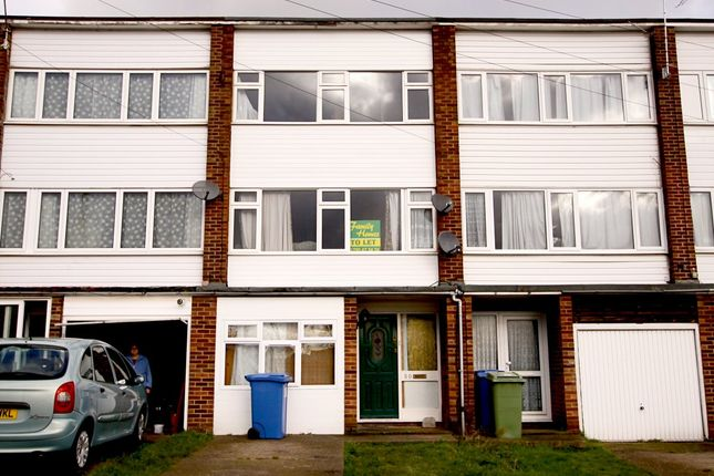 Thumbnail Town house to rent in All Saints Road, Sittingbourne