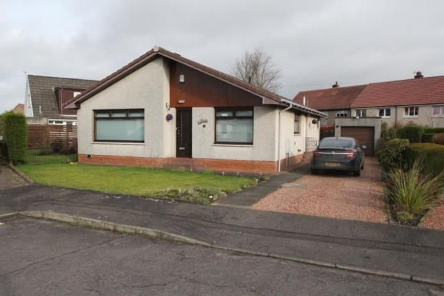 Thumbnail Bungalow for sale in Ladywell Court, Larbert, Stirlingshire