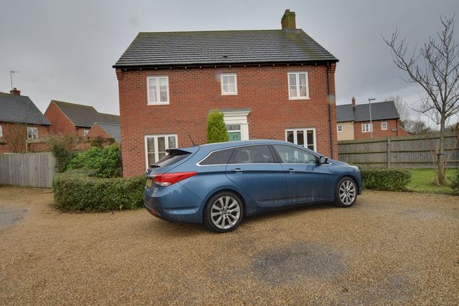 Thumbnail Detached house for sale in Prince Edward Way, Stotfold, Hitchin Bedfordshire