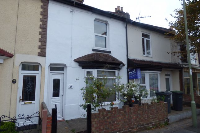 Thumbnail Terraced house to rent in Whitworth Road, Gosport