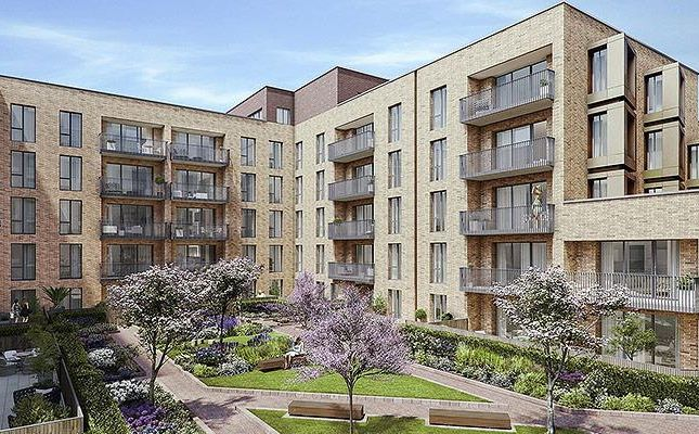 Thumbnail Flat for sale in London Square, Staines Upon Thames