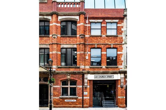 Thumbnail Office to let in 60, Church Street, Birmingham, West Midlands
