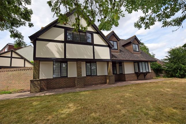 Thumbnail Detached house for sale in Hempstead Road, Hempstead