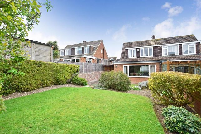 Thumbnail Semi-detached house for sale in Flowerhill Way, Istead Rise, Kent