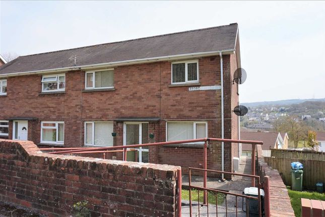 Thumbnail Semi-detached house for sale in Ffordd Aneurin, Pontyberem, Llanelli