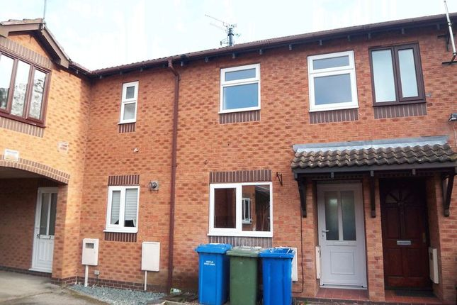 Thumbnail Terraced house to rent in Holdenby Close, Retford