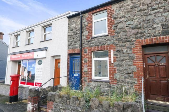 Thumbnail End terrace house for sale in Caernarfon Road, Bangor, Gwynedd