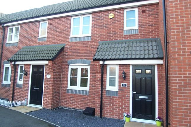 Thumbnail Town house to rent in Meryton Grove, Kirkby-In-Ashfield, Nottingham