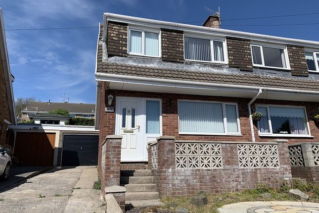Thumbnail Semi-detached house to rent in Tyn Y Twr, Baglan, Port Talbot, Neath Port Talbot.