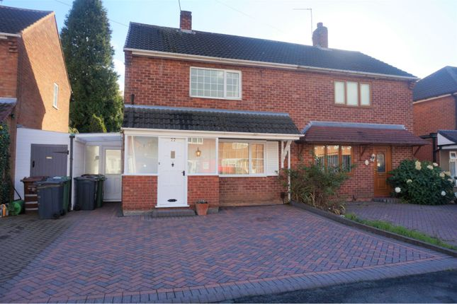 Thumbnail Semi-detached house for sale in Leighs Road, Walsall