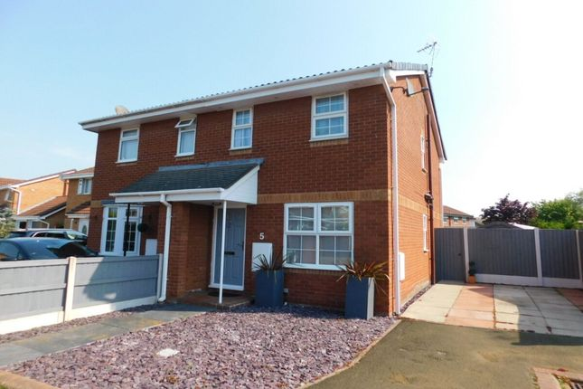 Thumbnail Semi-detached house to rent in Padworth Place, Leighton, Crewe