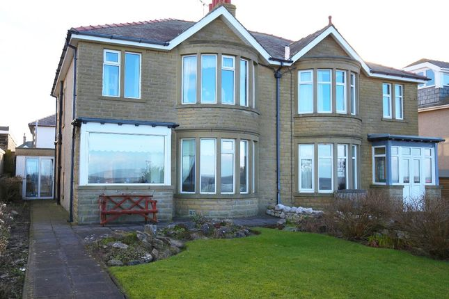 Thumbnail Semi-detached house for sale in The Cliffs, Heysham, Morecambe
