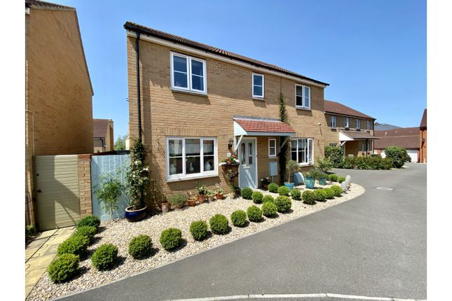Thumbnail Detached house for sale in Orkney Close, Stockmoor, Bridgwater