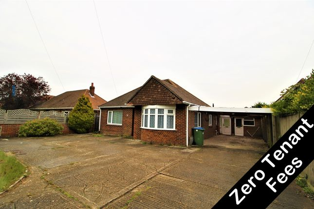 Thumbnail Detached bungalow to rent in Brook Lane, Warsash, Southampton, Hampshire