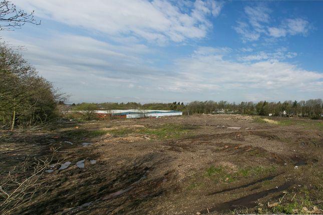 Thumbnail Land for sale in Salmon Fields & Turf Lane, Royton