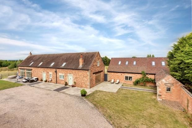 Thumbnail Barn conversion for sale in Melbourne, Derby, Derbyshire