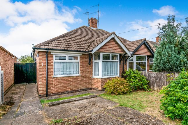 Thumbnail Semi-detached bungalow for sale in Templar Drive, Kingsthorpe, Northampton