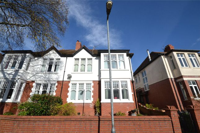Thumbnail Semi-detached house for sale in Winchester Avenue, Penylan, Cardiff
