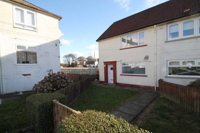 Thumbnail Semi-detached house to rent in Glebe Terrace, Fenwick, East Ayrshire