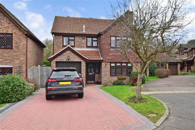 Thumbnail Detached house for sale in Boleyn Close, Billericay, Essex