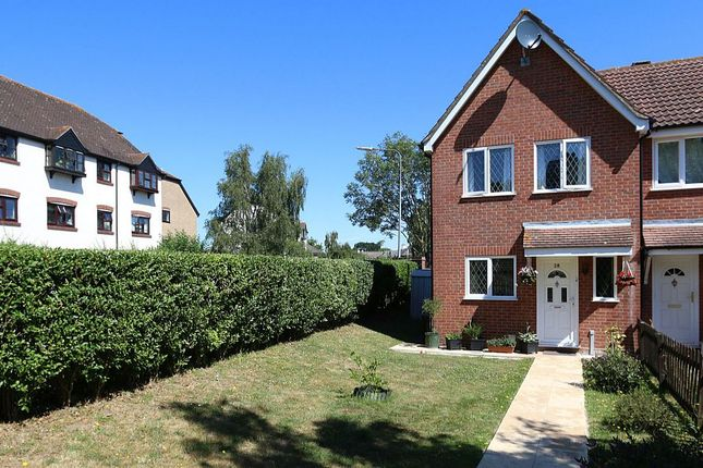 Thumbnail End terrace house for sale in Hunters Ridge, Highwoods, Colchester, Essex