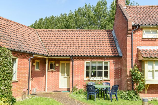 Thumbnail Terraced bungalow for sale in Barsham Road, Great Snoring, Fakenham