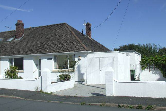 3 bed semi-detached bungalow to rent in Lynhurst Avenue, Sticklepath, Barnstaple EX31