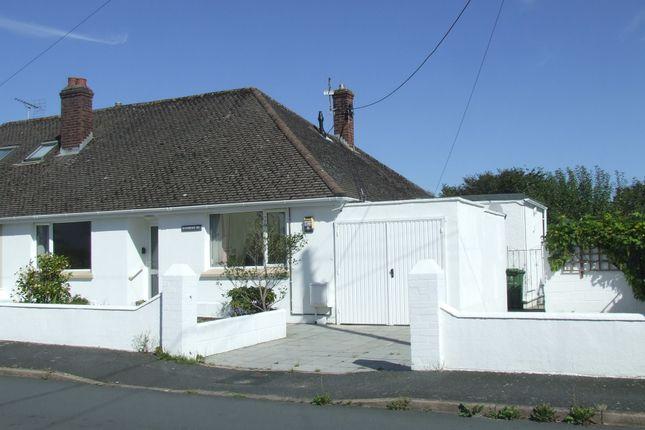 Thumbnail Semi-detached bungalow to rent in Lynhurst Avenue, Sticklepath, Barnstaple