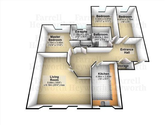 Floorplan of Windsor Court, Poulton-Le-Fylde FY6