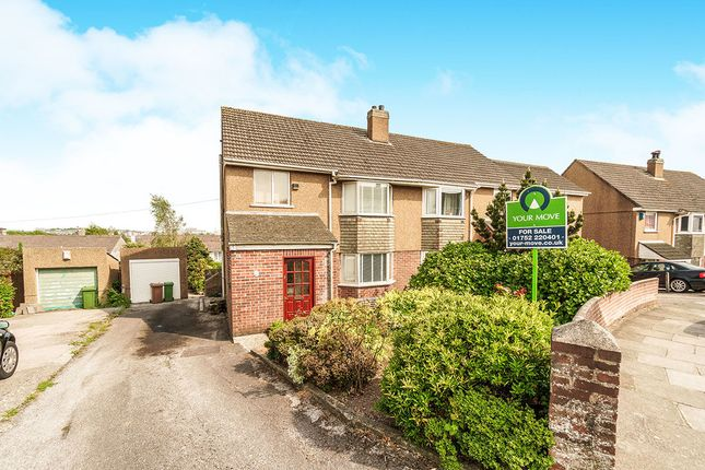 Thumbnail Semi-detached house for sale in Raynham Road, Plymouth