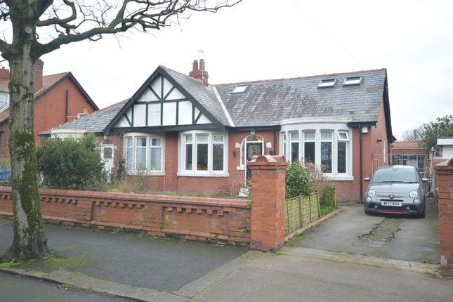 Thumbnail Semi-detached bungalow for sale in Thirlmere Road, Blackpool